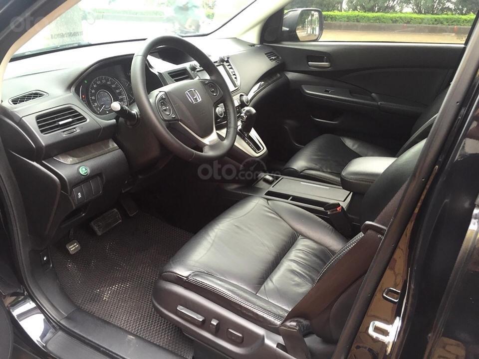 Cần bán xe Honda CR V 2.4 đời 2014, màu đen chính chủ-8