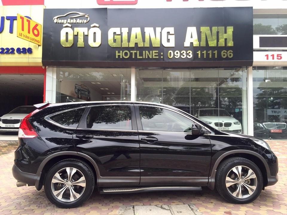 Cần bán xe Honda CR V 2.4 đời 2014, màu đen chính chủ-0