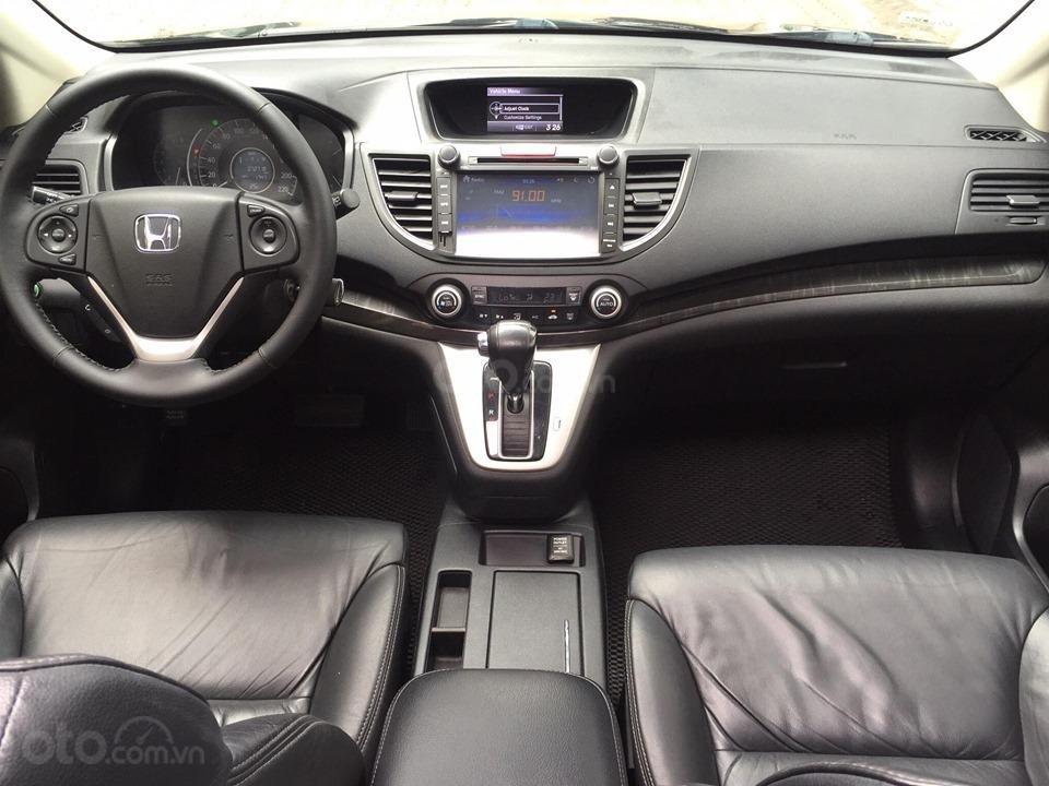 Cần bán xe Honda CR V 2.4 đời 2014, màu đen chính chủ-11