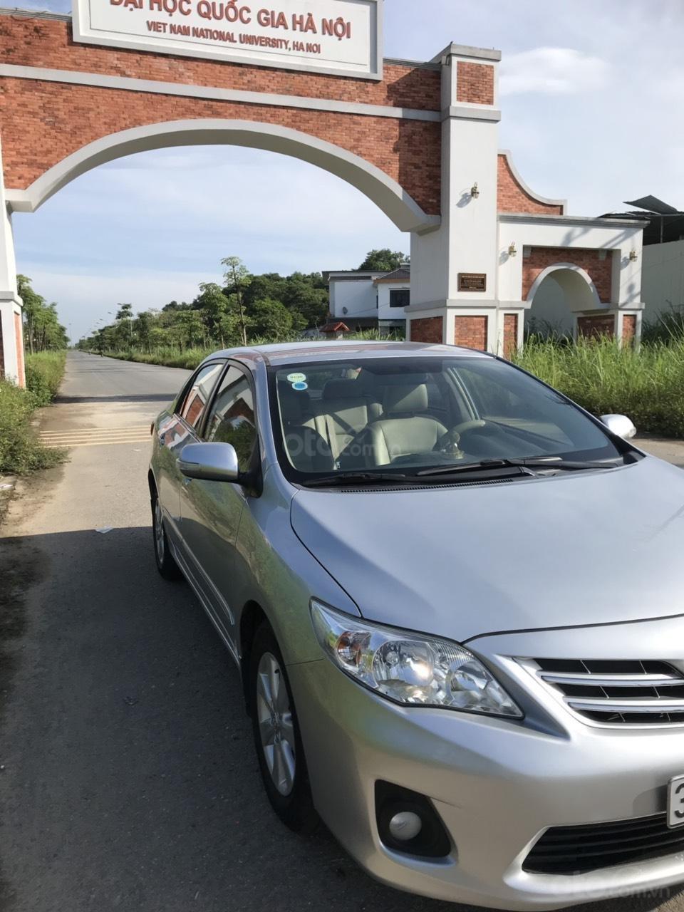 Bán Toyota Corolla altis 1.8L AT sản xuất năm 2010, màu bạc-4