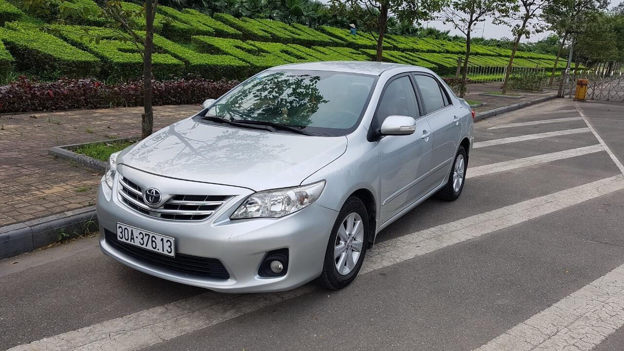Bán Toyota Corolla altis 1.8L AT sản xuất năm 2010, màu bạc-6