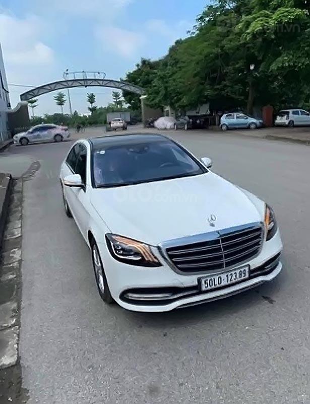 Cần bán xe Mercedes S450 năm 2017, màu trắng (1)