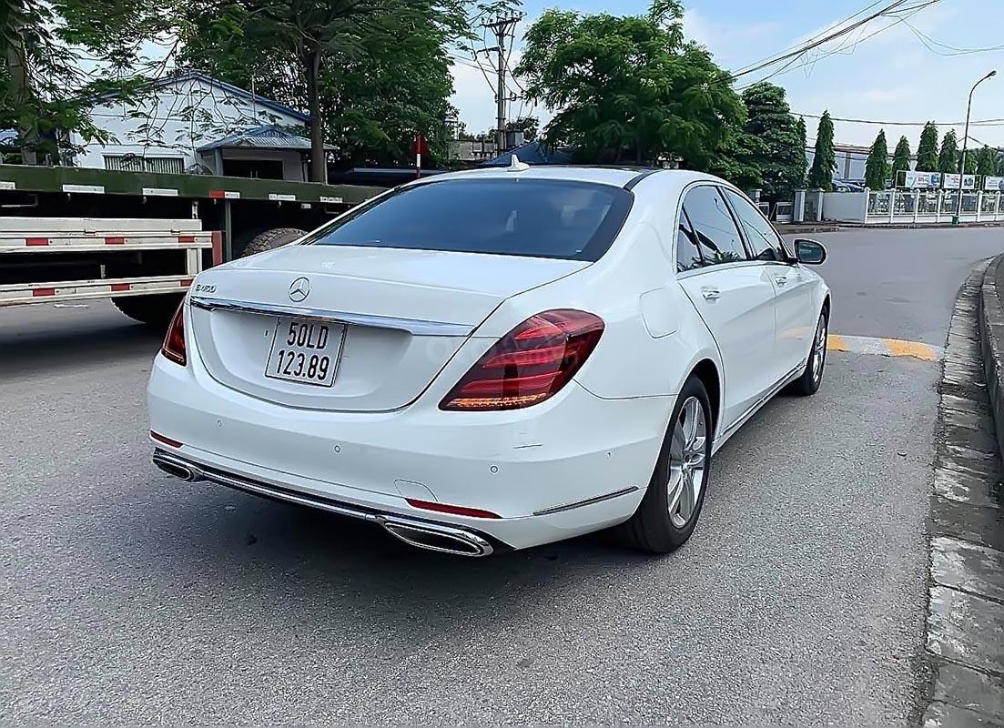 Cần bán xe Mercedes S450 năm 2017, màu trắng (2)