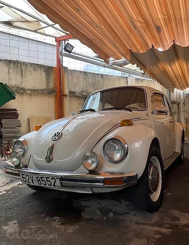 Cần bán xe Volkswagen Beetle năm 1975, màu trắng, xe nhập, giá chỉ 420 triệu (1)