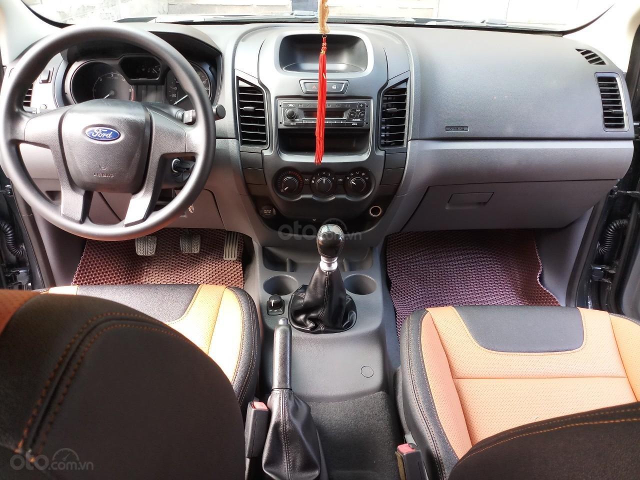 Ô Tô Thủ Đô bán xe Ford Ranger XL 2.2L 4x4 2016, 2 cầu, màu ghi xám 469 triệu-4