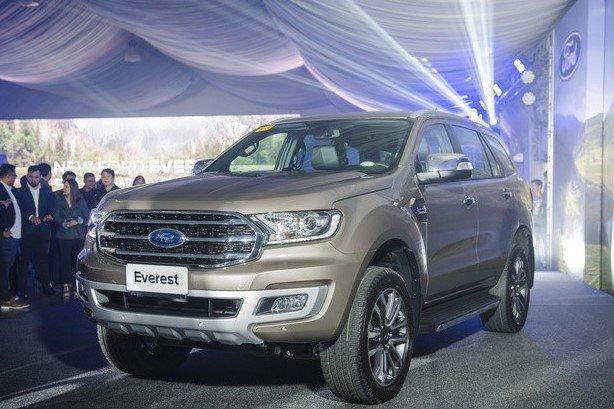 SUV Ford Everest 2020 chính thức trình làng tại Philippines