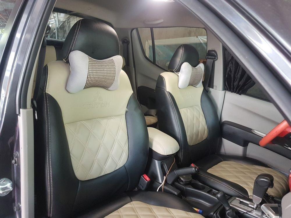 Cần bán Mitsubishi Triton sản xuất 2015, màu xám, nhập khẩu   (2)