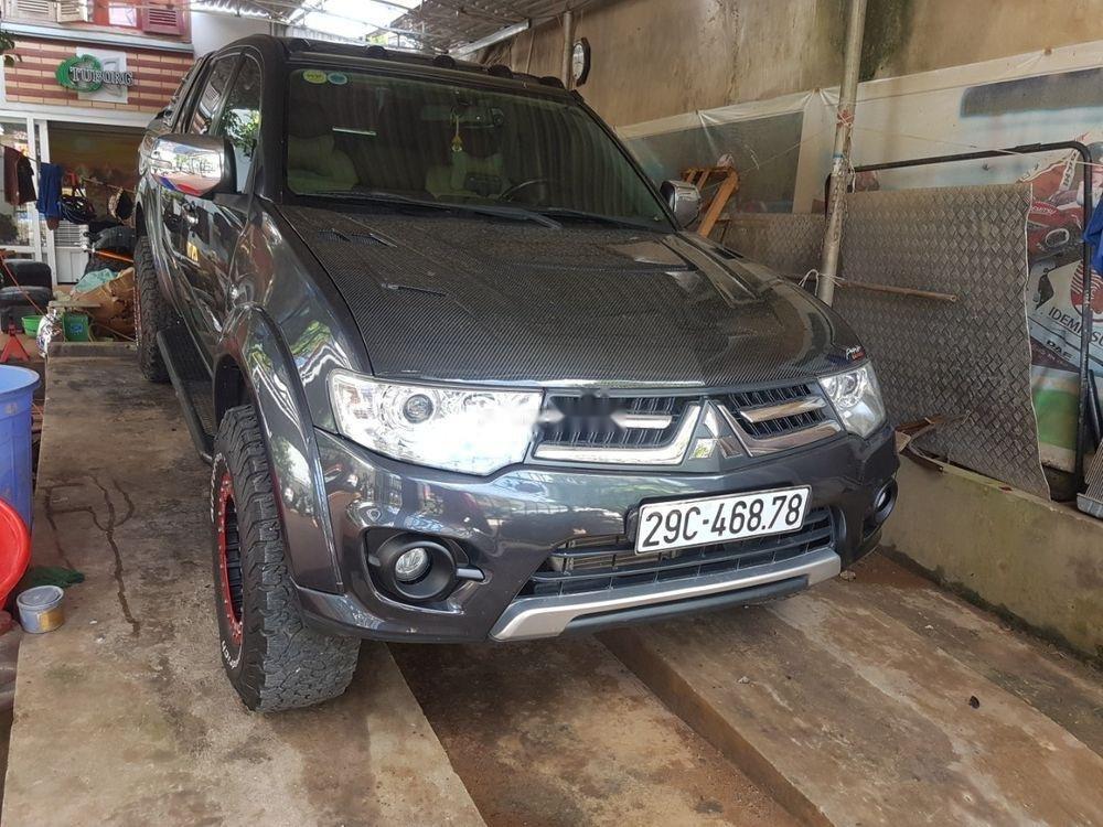 Cần bán Mitsubishi Triton sản xuất 2015, màu xám, nhập khẩu   (3)