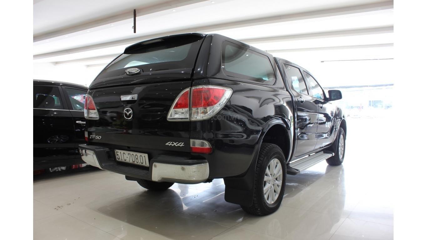 Bán Mazda BT 50 3.2 AT 2015, màu đen, xe nhập, trả trước chỉ từ 162 triệu (5)