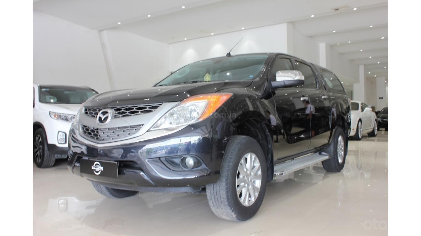 Bán Mazda BT 50 3.2 AT 2015, màu đen, xe nhập, trả trước chỉ từ 162 triệu (3)