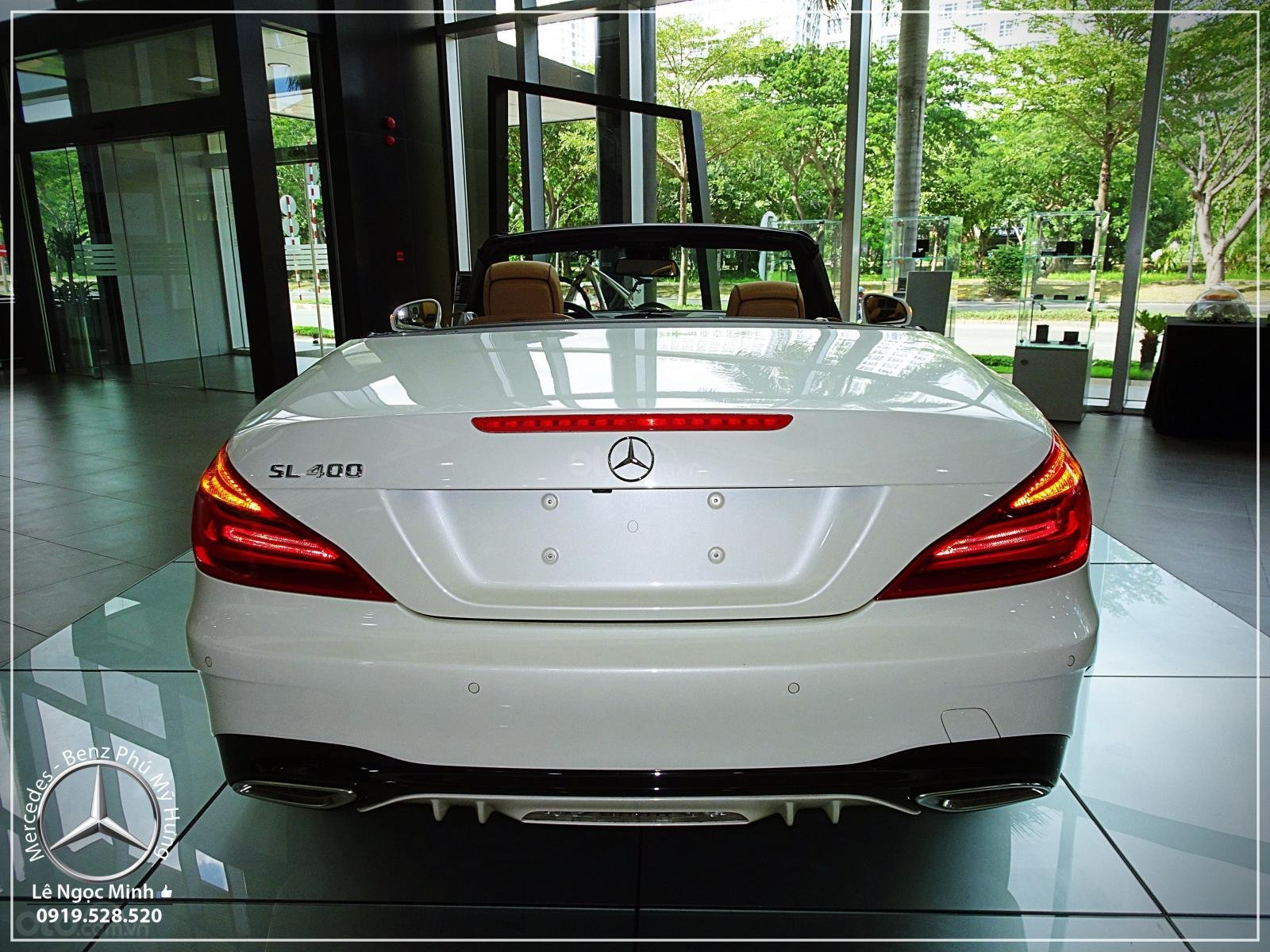 Mercedes-Benz SL 400 model 2020 - Xe thể thao mui trần 2 cửa- LH Đặt xe: 0919 528 520 - hỗ trợ Bank 80% (21)