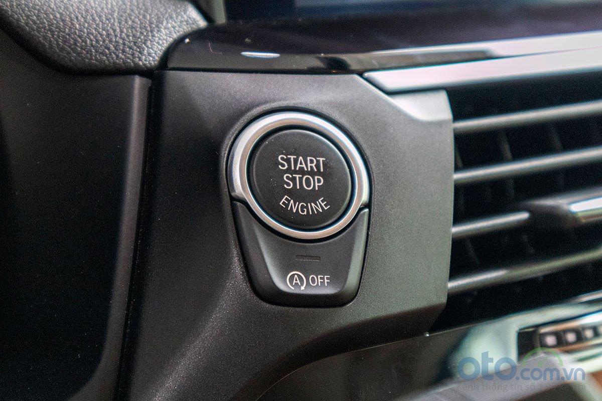 Đánh giá xe BMW X3 2019: Nút bấm khởi động.