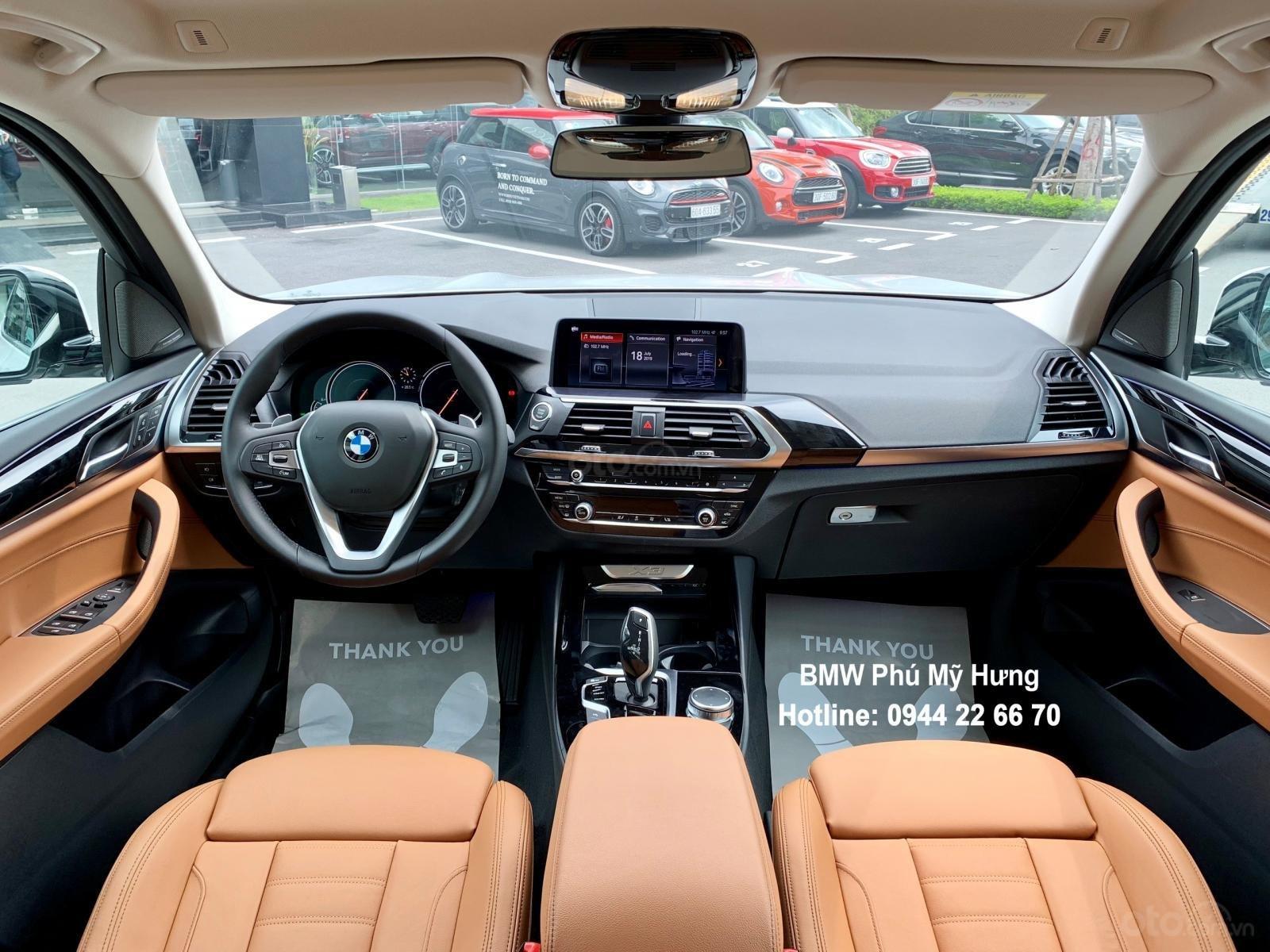 BMW X3 2019 miễn phí 3 năm bảo dưỡng, tặng bảo hiểm vật chất, đặt cọc sớm có xe giao ngay (6)