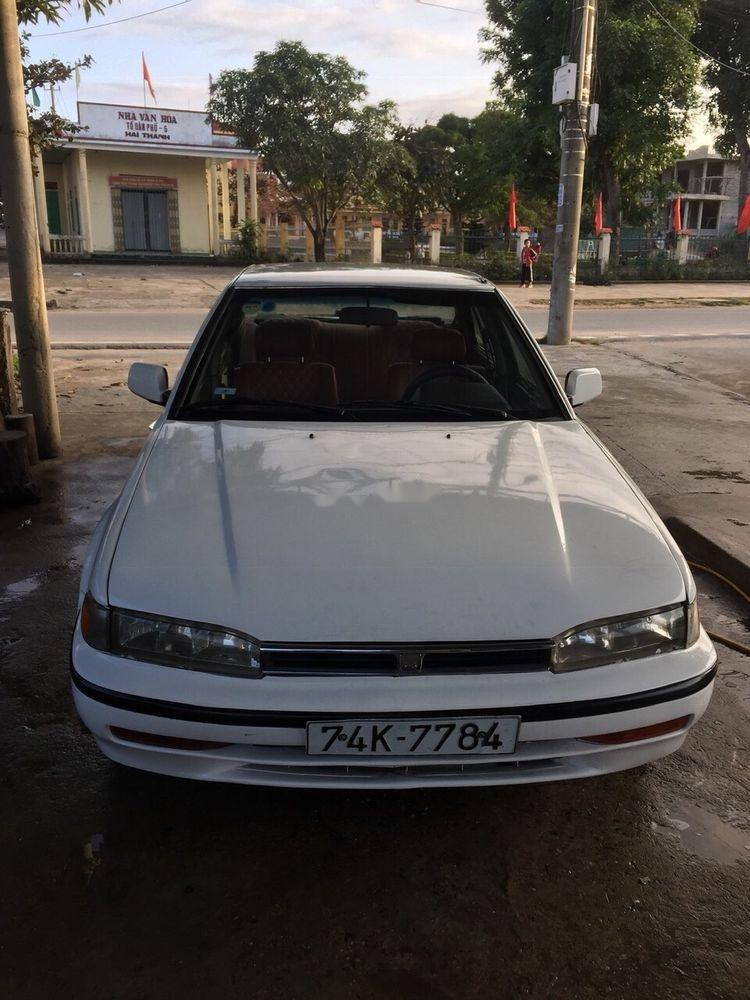 Cần bán xe Honda Accord sản xuất 1989, màu trắng-2