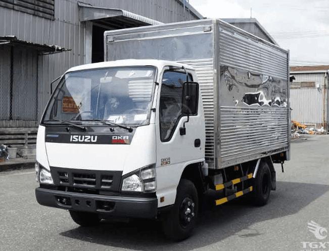 Bán xe tải Isuzu 1.9 tấn thùng kín dài 3m5 | QKRF 230 (1)