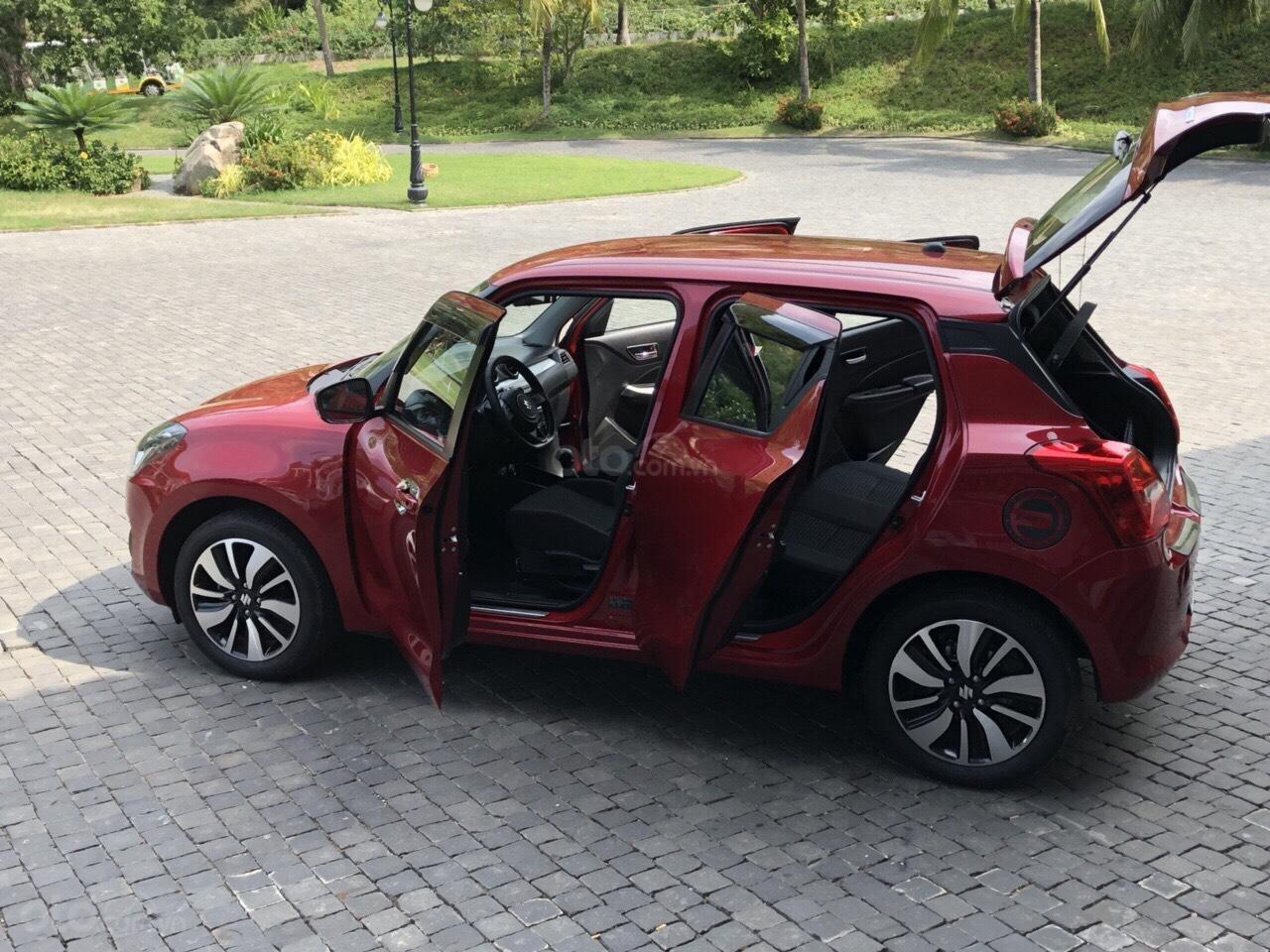 Bán xe Suzuki Swift GLX mới 100%, màu đỏ, nhập khẩu, 494 triệu, liên hệ 0911935188 (6)