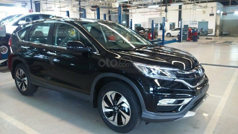 Bán Honda CR V L năm sản xuất 2019, màu đen, nhập khẩu, đủ màu giao ngay-3