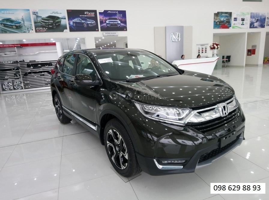Bán Honda CR V L năm sản xuất 2019, màu đen, nhập khẩu, đủ màu giao ngay-0