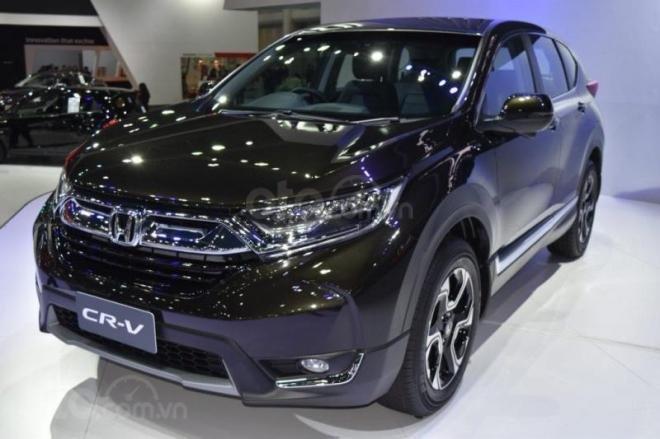 Bán Honda CR V L năm sản xuất 2019, màu đen, nhập khẩu, đủ màu giao ngay-4