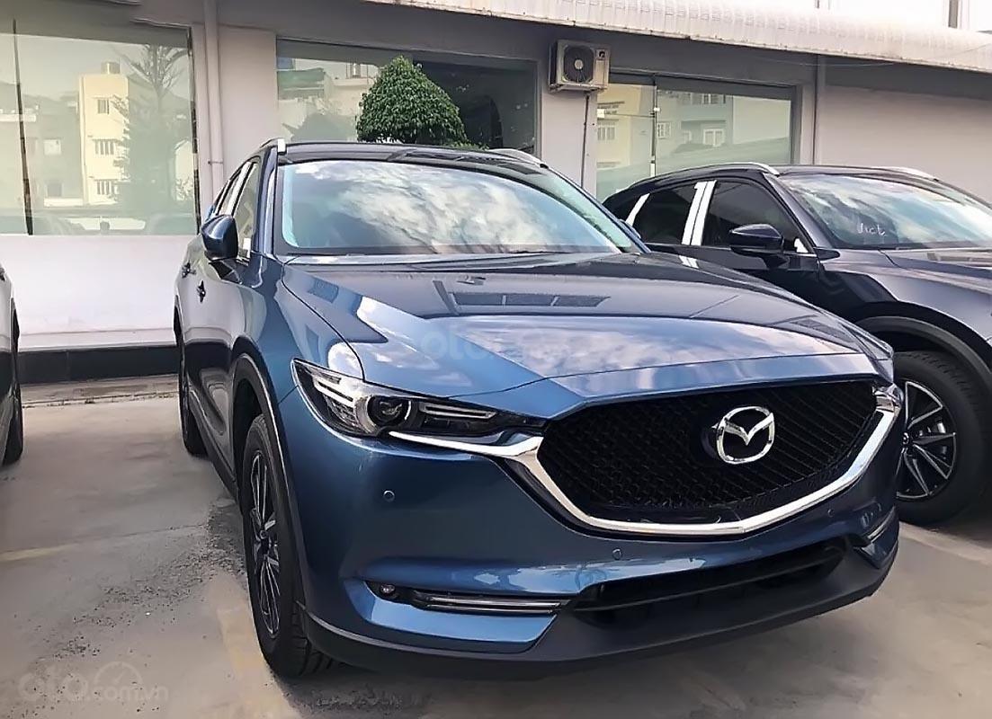 Bán Mazda CX 5 2.0 AT đời 2018, màu xanh lam-1