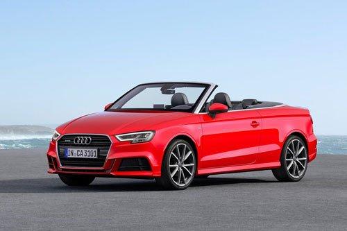 Top 10 ô tô mui trần rẻ nhất 2019: Audi A3 Cabriolet 2019.