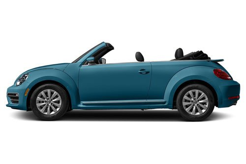 Top 10 ô tô mui trần rẻ nhất 2019: Volkswagen Beetle S Convertible 2019.
