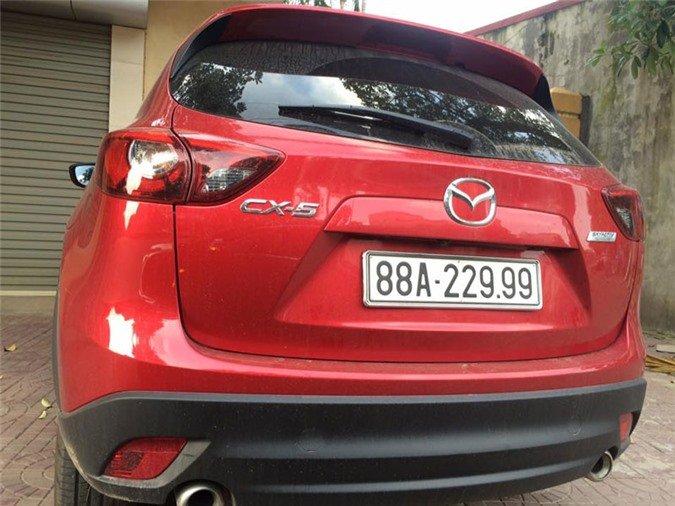 dàn xe Mazda có biển số vừa đẹp vừa độc tại Việt Nam 3.