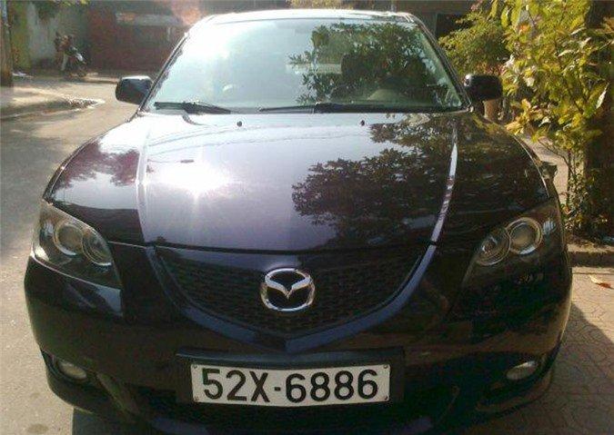 dàn xe Mazda có biển số vừa đẹp vừa độc tại Việt Nam 6.