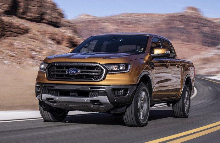 """Ford Ranger vẫn giữ vững """"ngôi vương"""" doanh số bán tải tháng 07/2019"""