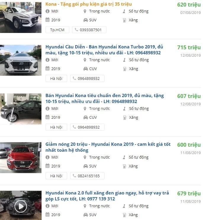 Hyundai Kona giảm 30 triệu đón tháng Ngâu tại Việt Nam a2
