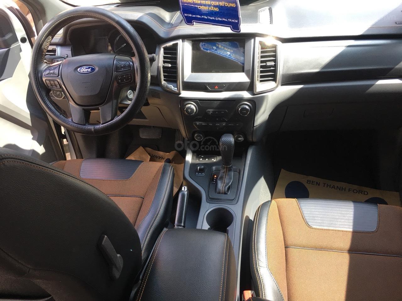 Bán xe Ford Ranger Wildtrak 3.2L đời 2015, màu trắng, xe nhập, giá chỉ 720 triệu (7)