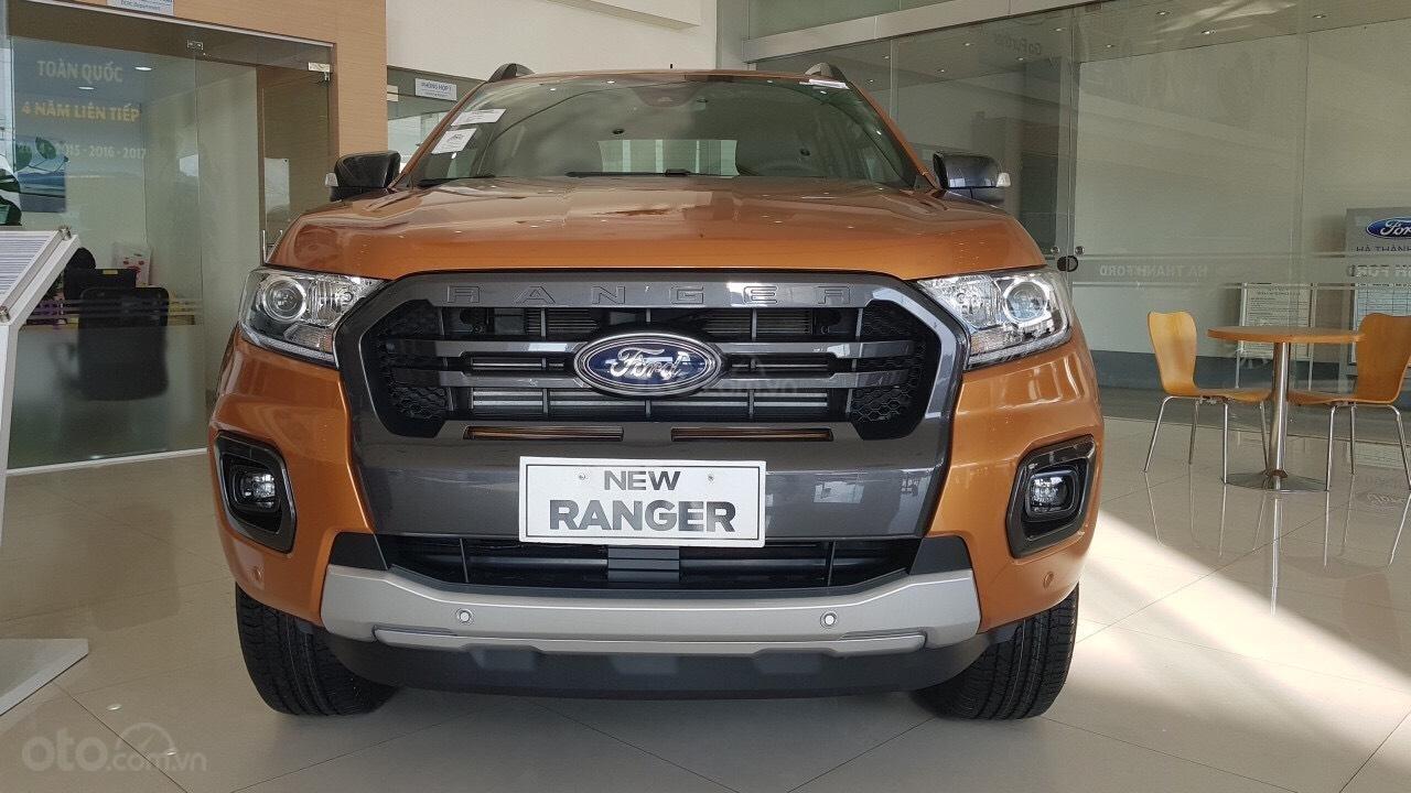 Ford Hà Thành bán Ford Ranger Wildtrak 2.0 tubor kép đời 2019, nhập khẩu nguyên chiếc giá tốt nhất miền bắc-1