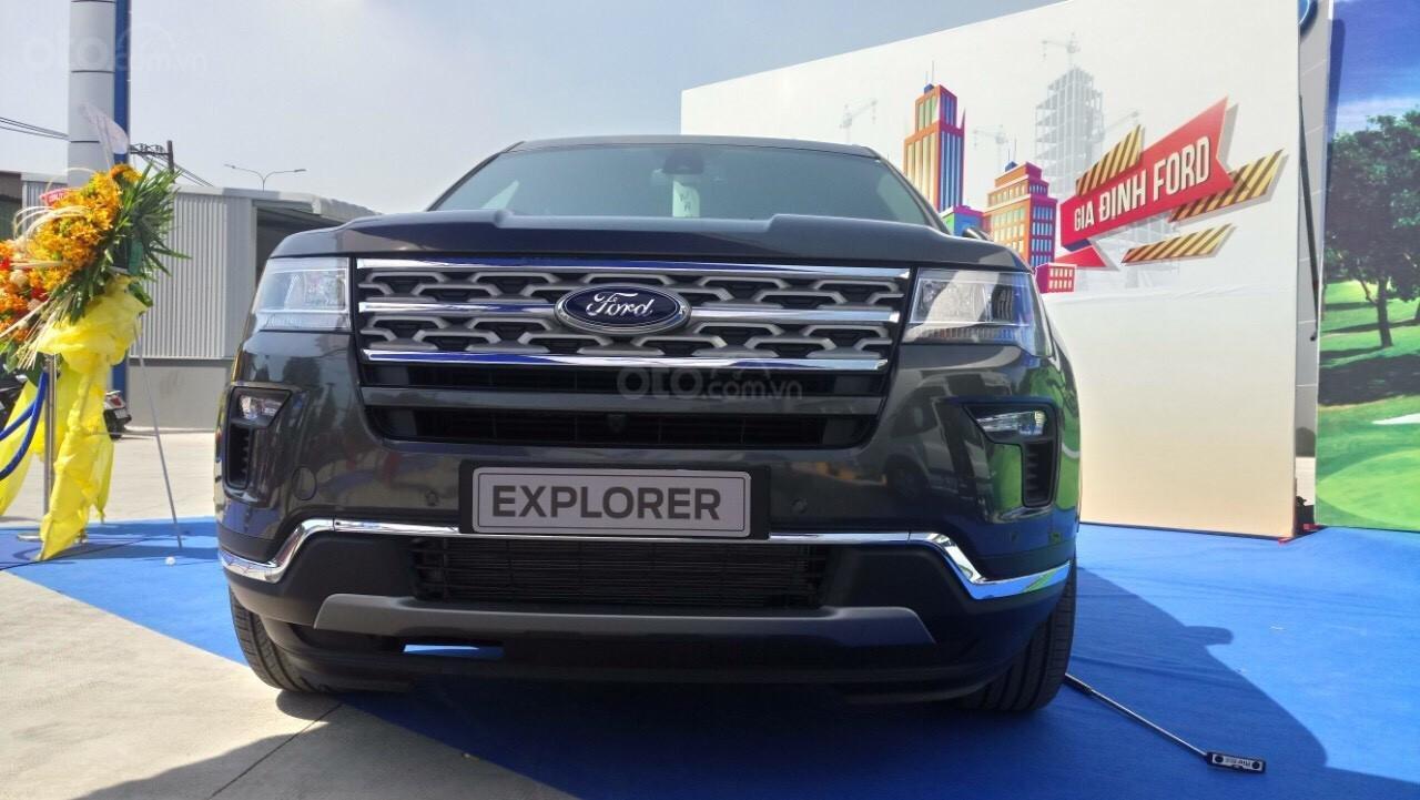 Cần bán xe Ford Explorer 2.3 Ecoboost năm sản xuất 2019, nhập khẩu nguyên chiếc, giá tốt. LH 0974286009 (2)