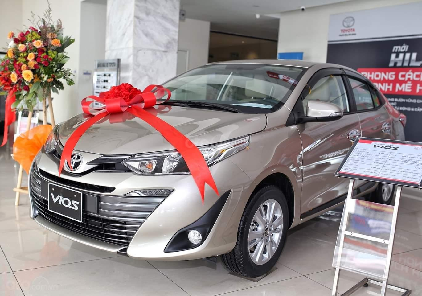 Toyota Vios, giá cực tốt. Giao xe ngay. Hỗ trợ trả góp đến 85% giá trị xe-0