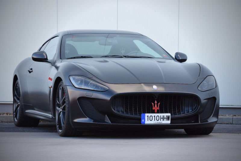 Maserati Gran Turismo MC Stradale từng thuộc sở hữu của Messi