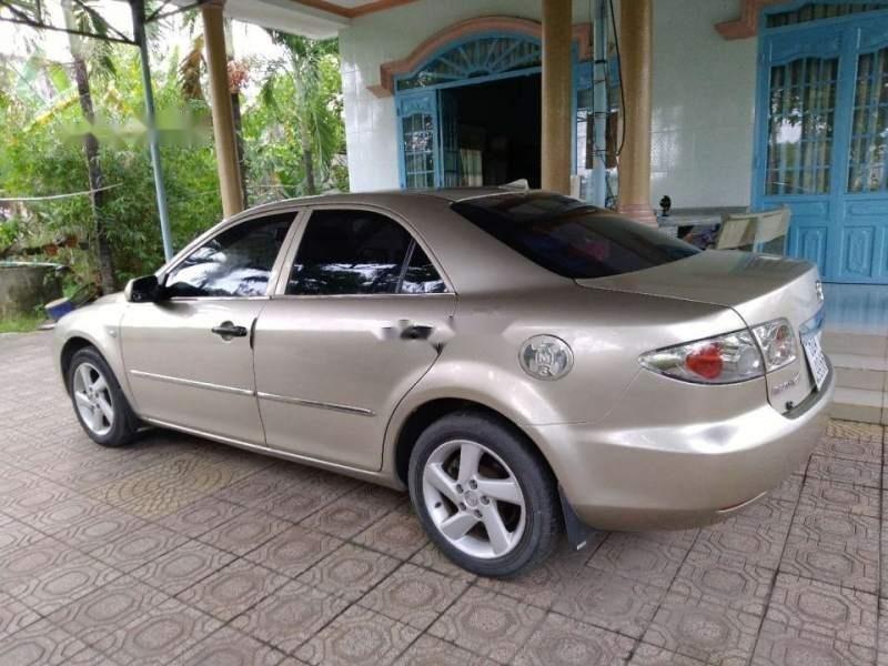 Bán ô tô Mazda 6 năm 2003, màu vàng, giá chỉ 310 triệu-3