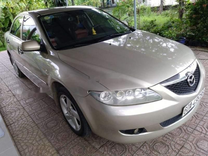 Bán ô tô Mazda 6 năm 2003, màu vàng, giá chỉ 310 triệu-0