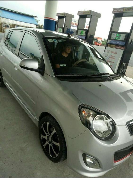 Bán xe Kia Morning đời 2012, màu bạc (1)