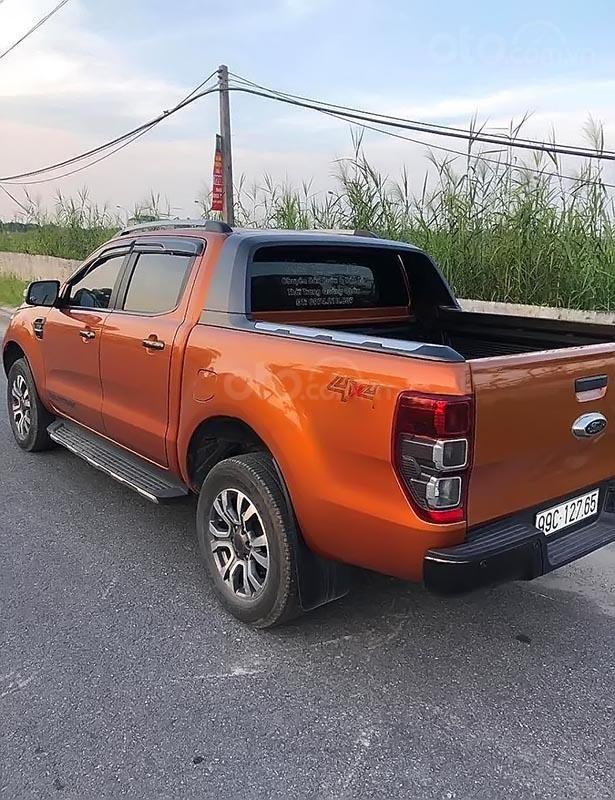 Xe Ford Ranger Wildtrak 2.2L 4x4 AT sản xuất 2017, màu nâu, nhập khẩu nguyên chiếc chính chủ (3)