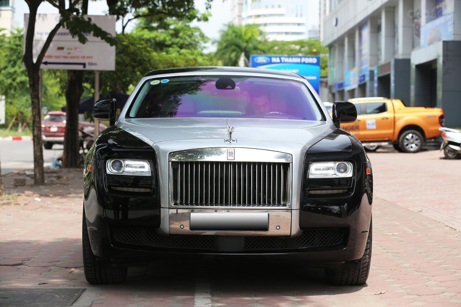 Bán Rolls-Royce Ghost Series I đời 2011, màu đen, xe nhập (1)