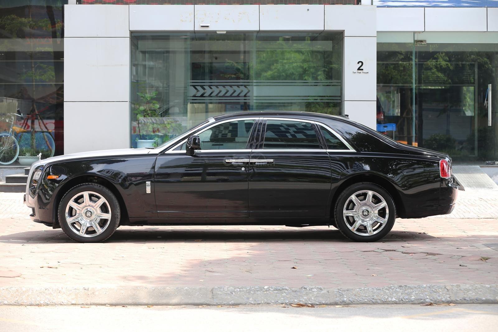Bán Rolls-Royce Ghost Series I đời 2011, màu đen, xe nhập (2)