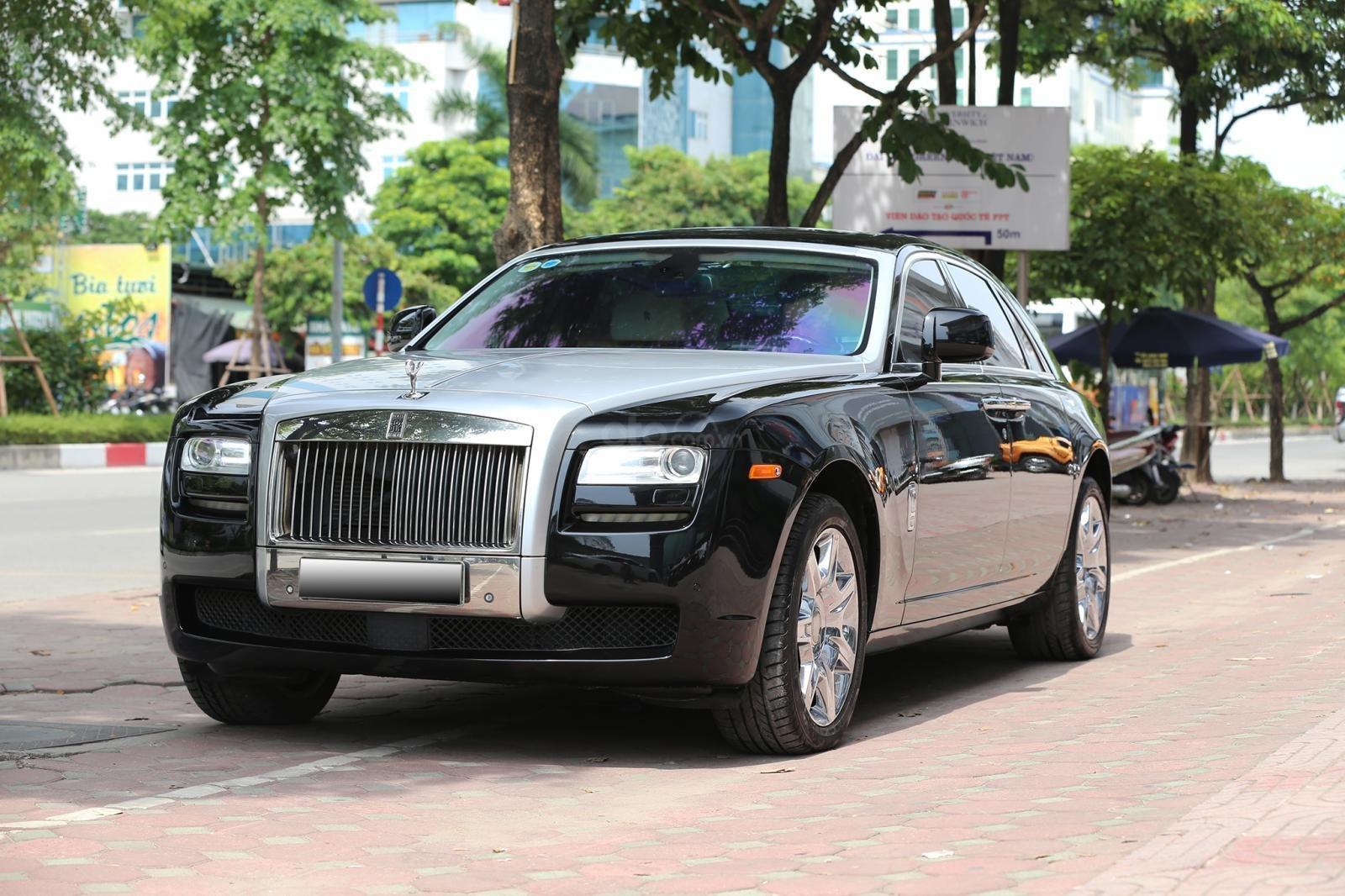 Bán Rolls-Royce Ghost Series I đời 2011, màu đen, xe nhập (3)