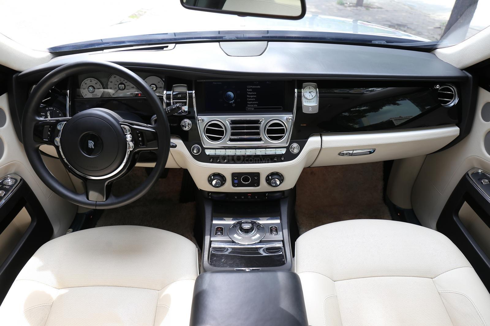 Bán Rolls-Royce Ghost Series I đời 2011, màu đen, xe nhập (5)