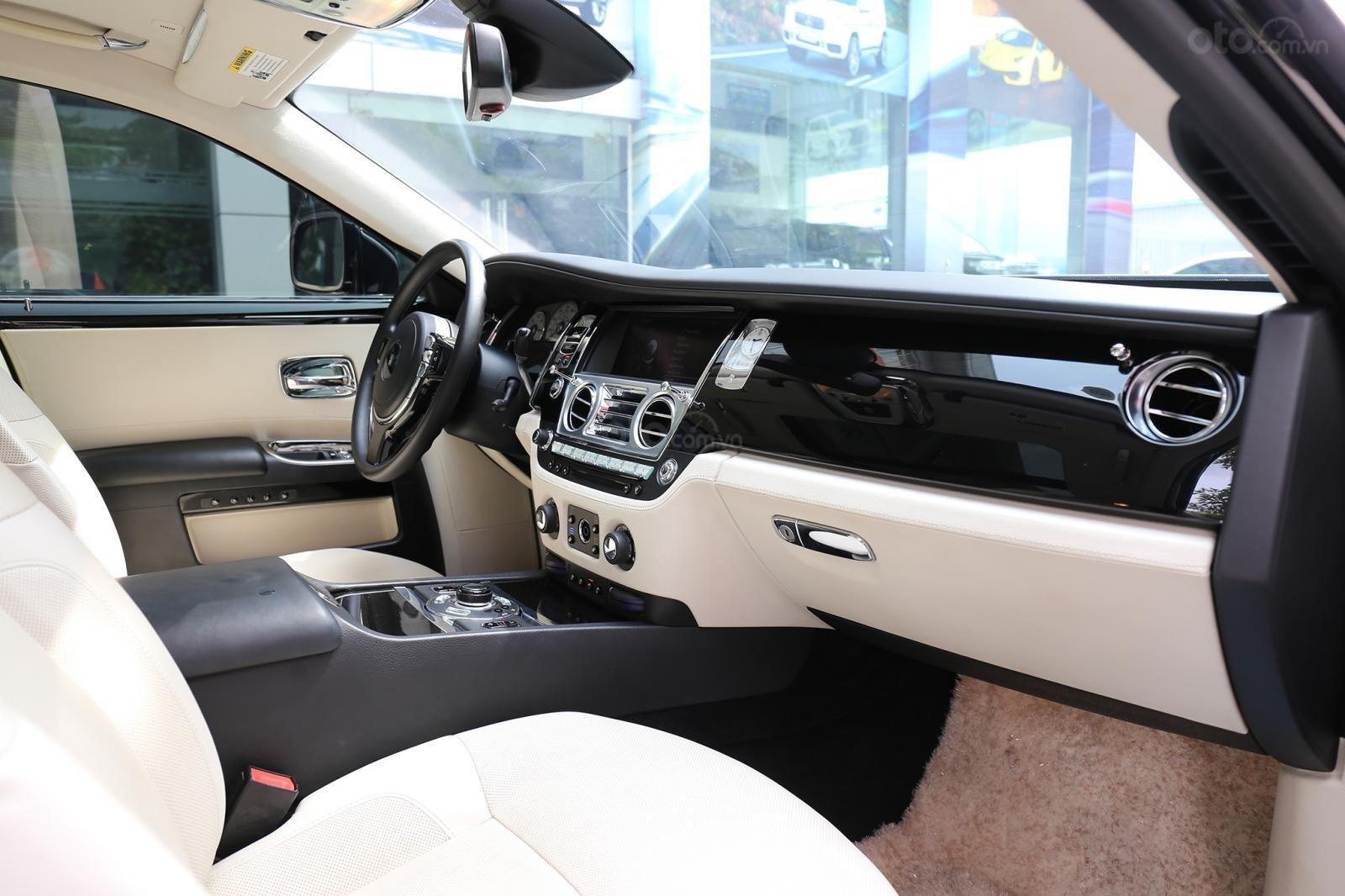 Bán Rolls-Royce Ghost Series I đời 2011, màu đen, xe nhập (17)