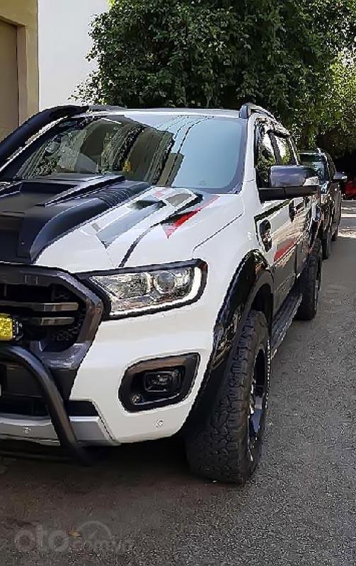 Cần bán Ford Ranger Wildtrak 2.0L 4x4 AT năm 2018, màu trắng, nhập khẩu nguyên chiếc -0