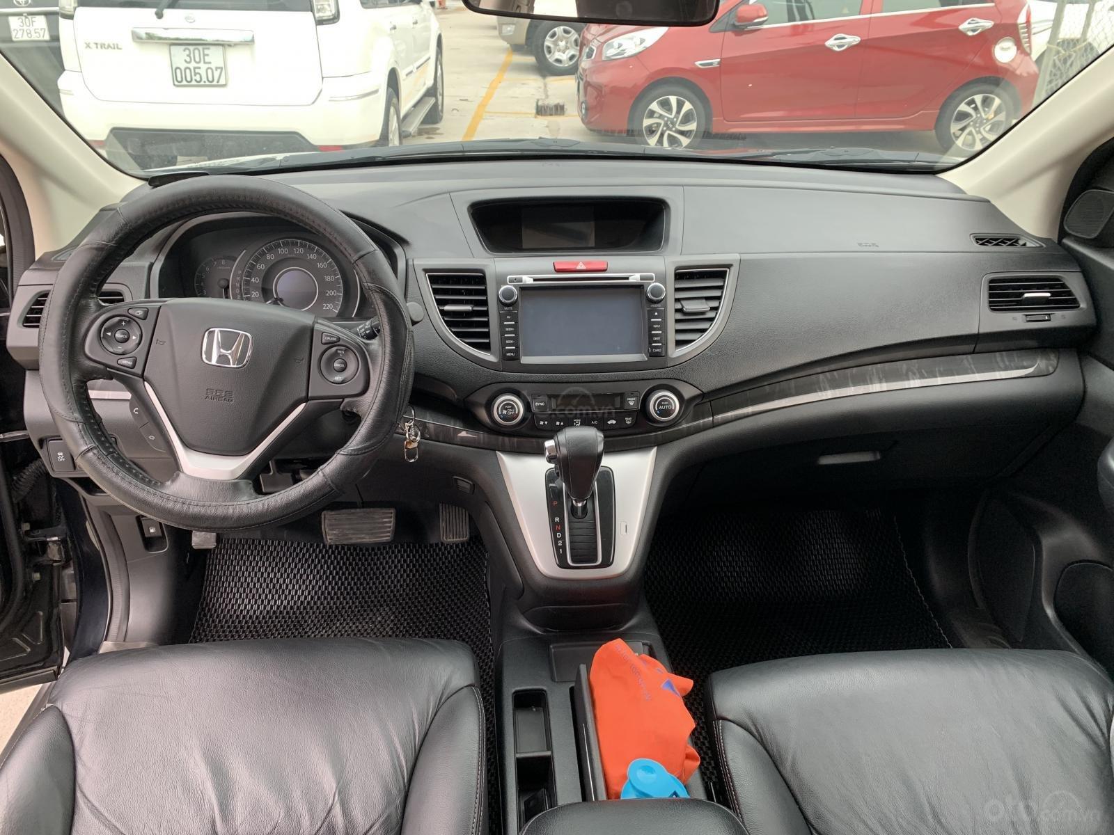 Cần bán Honda CR V 2.4 sản xuất 2014, màu đen-6