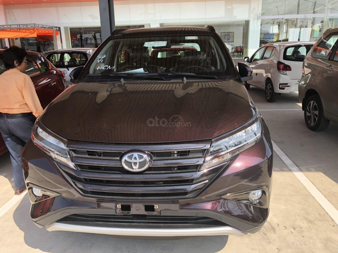 Bán Toyota Rush 1.5S AT năm 2019, màu đỏ, xe nhập, thanh toán 250tr nhận xe (1)