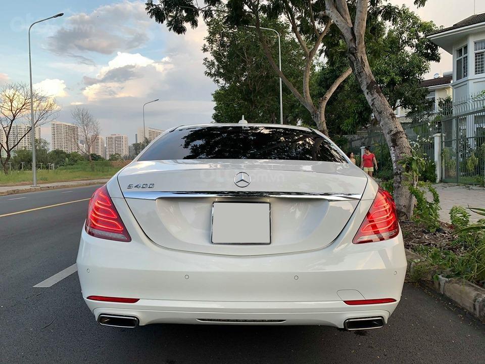 Chính chủ  bán xe Mercedes S400L đời 2017, màu trắng, xe đi ít, giá tốt-2