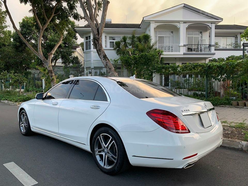Chính chủ  bán xe Mercedes S400L đời 2017, màu trắng, xe đi ít, giá tốt-6