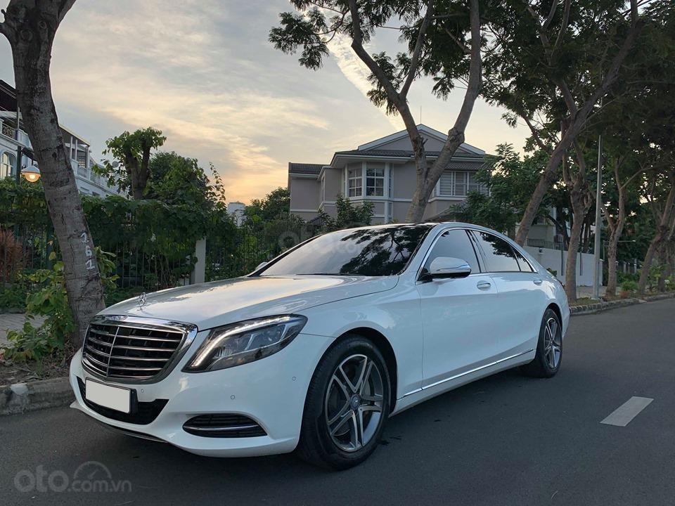 Chính chủ  bán xe Mercedes S400L đời 2017, màu trắng, xe đi ít, giá tốt-5